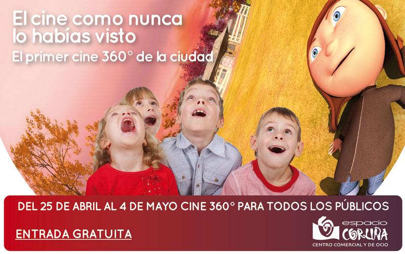 Facebook muro Cine 360º