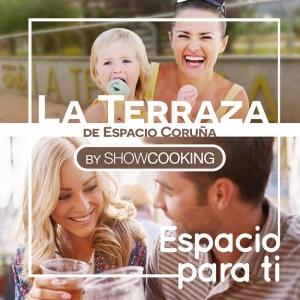 La Terraza de Espacio Coruña by Showcooking