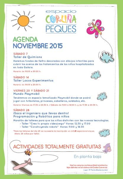 Agenda peques noviembre