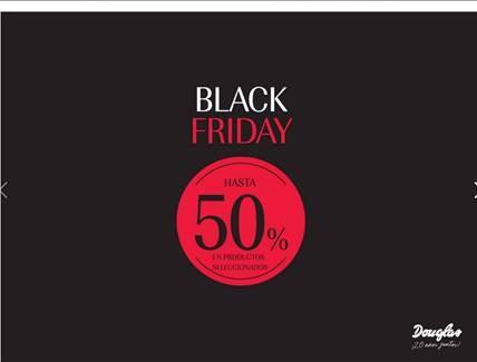 Perfumería Douglas tendrá hasta un 50 % en productos seleccionados.