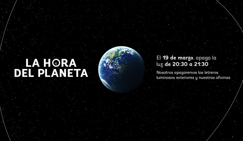 Para saber más de La Hora del Planeta visita: www.lahoradelplaneta.org
