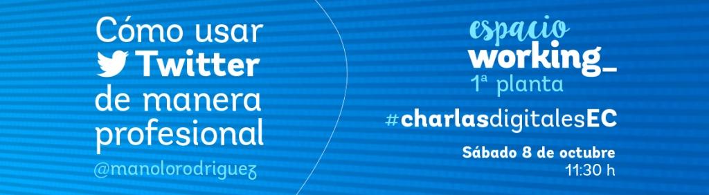 Charlas Digitales Espacio Coruña Octubre